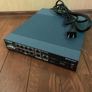 ヤマハ(ヤマハ)のヤマハYAMAHA RTX1200 ギガビットイーサルーター(PC周辺機器)
