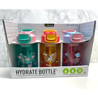 コストコ(コストコ)のReduce HYDRO BOTTLE キッズ ストロー付水筒 タンブラー 3本(水筒)