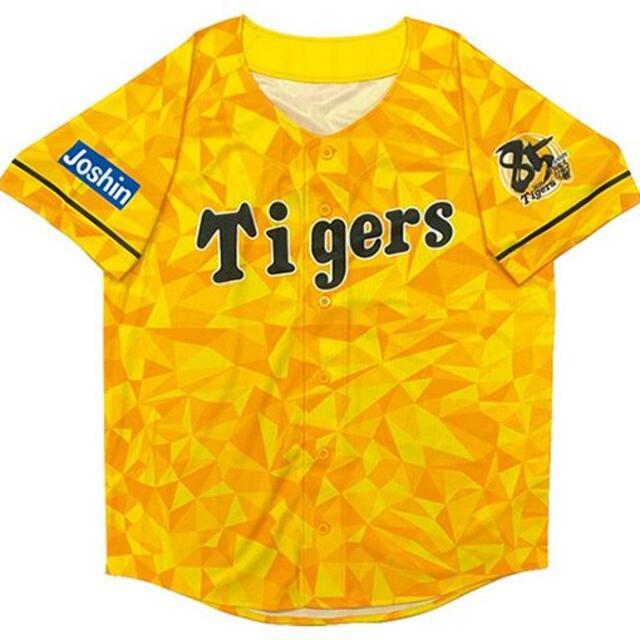 阪神タイガース(ハンシンタイガース)の阪神タイガース ウル虎の夏2020ユニフォームデザイン限定オリジナルジャージ スポーツ/アウトドアの野球(ウェア)の商品写真