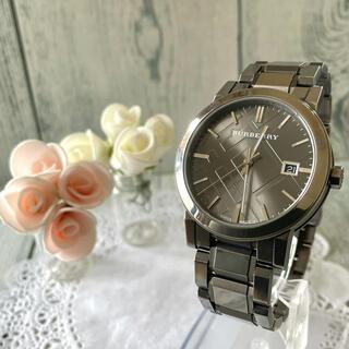 バーバリー(BURBERRY)の【動作OK】BURBERRY バーバリー BU9007 腕時計 シティ メンズ (腕時計(アナログ))