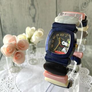 【動作OK】Time Will Tell タイムウィルテル 腕時計 スヌーピー(腕時計)