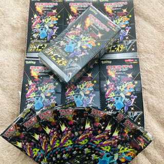 ポケモン(ポケモン)のポケモンカードゲームシャイニースターV未開封BOX1 開封済みBOX6 パック7(Box/デッキ/パック)