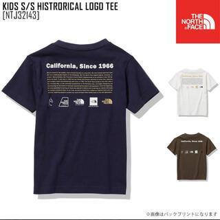 ザノースフェイス(THE NORTH FACE)のノースフェイス キッズ 半袖 ヒストリカルロゴ Tシャツ 150(Tシャツ/カットソー)