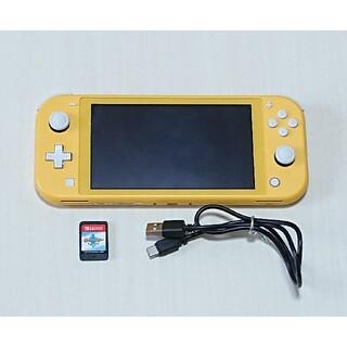 Nintendo Switch - Switch lite イエロー 本体 ソフト付