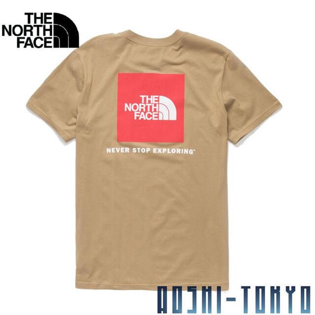 THE NORTH FACE(ザノースフェイス)の◆日本未発売◆NORTH  FACE BOX ロゴTシャツ/ケルプタン Sサイズ メンズのトップス(Tシャツ/カットソー(半袖/袖なし))の商品写真