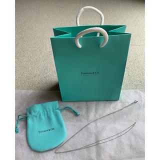 Tiffany & Co. - ティファニー  チェーンネックレス プラチナ