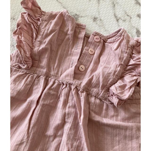 petit main(プティマイン)のプティマイン セットアップ キッズ/ベビー/マタニティのベビー服(~85cm)(シャツ/カットソー)の商品写真