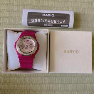 ベビージー(Baby-G)のCASIO BABY-G ピンク パープル BGA-104-4B2DR(腕時計)