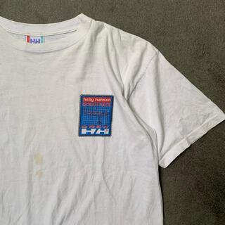 ヘリーハンセン(HELLY HANSEN)のUSED ユーズド Helly Hansen Tシャツ 半袖 tee M(Tシャツ/カットソー(半袖/袖なし))