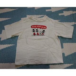 BREEZE - BREEZE★PEANUTSワッペンTシャツサイズ120