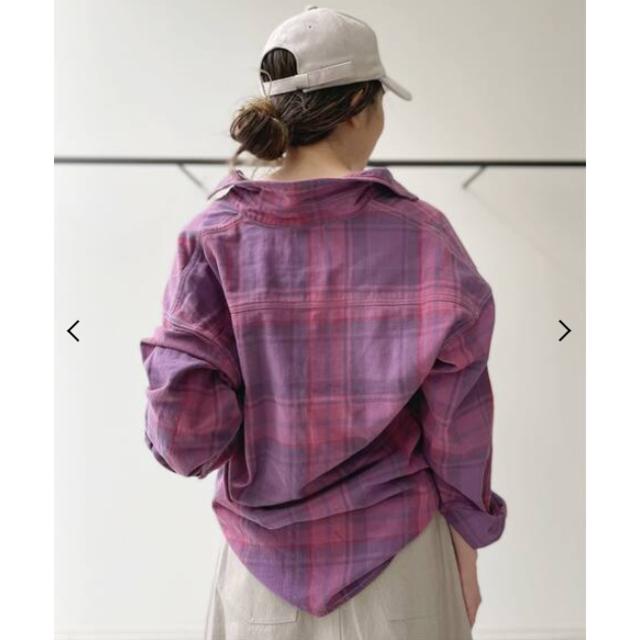 L'Appartement DEUXIEME CLASSE(アパルトモンドゥーズィエムクラス)のL'Appartement♡REMI RELIEF♡最新作Check Shirt レディースのトップス(シャツ/ブラウス(長袖/七分))の商品写真