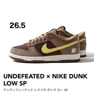 ナイキ(NIKE)のUNDEFEATED × NIKE DUNK LOW SP 26.5cm ダンク(スニーカー)