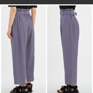GU - gu パープル パンツ