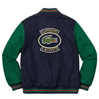 シュプリーム(Supreme)のSupreme LACOSTE Wool Varsity Jacket  S(スタジャン)