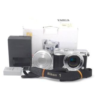 ニコン(Nikon)の★Wi-Fi機能付き★Nikon 1 J5 パワーズームレンズキット(ミラーレス一眼)