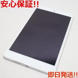 アンドロイド(ANDROID)の新品同様 701HW MediaPad M3 Lite s ホワイト (タブレット)