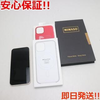 アイフォーン(iPhone)の超美品 SIMフリー iPhone12 mini 128GB  ホワイト(スマートフォン本体)