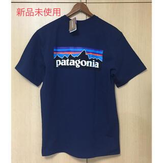パタゴニア(patagonia)のパタゴニア Tシャツ ネイビー サイズS(Tシャツ/カットソー(半袖/袖なし))
