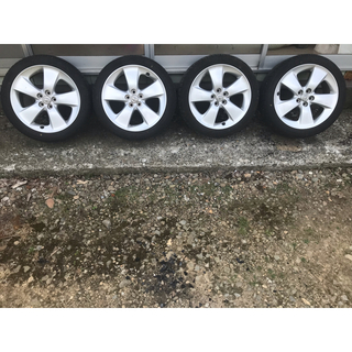 プリウス30 純正ホイール 17インチ タイヤ付き タイヤ購入R3年4月