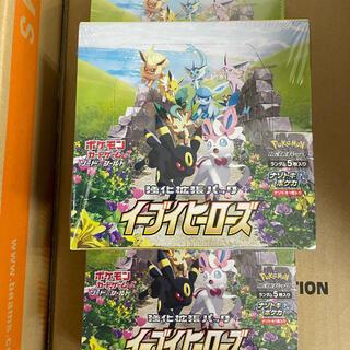 ポケモン(ポケモン)のイーブイ ヒーローズ 強化拡張パック 新品未開封×3ボックス(カード)
