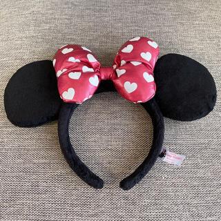 Disney - ◆Disney ディズニー 耳カチューシャ ミニー ハート ピンク ガーリー