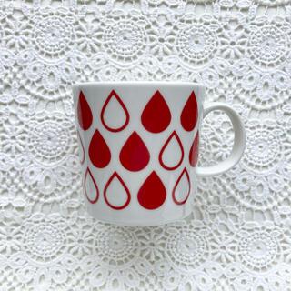 アラビア(ARABIA)の美品◆ARABIA 企業マグカップ 献血 TEEMA(食器)