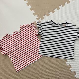 プティマイン(petit main)のプティマイン トップス 2点セット(Tシャツ/カットソー)