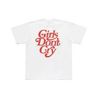 ジーディーシー(GDC)の新品未使用】Girls Don't Cry×Human Made 白(Tシャツ/カットソー(半袖/袖なし))