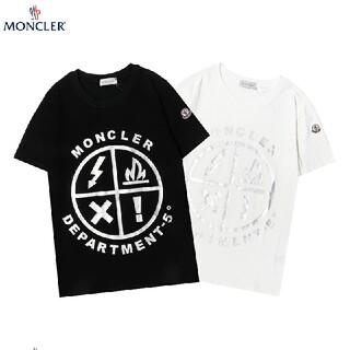 MONCLER - [2枚9999円送料込み]新品  MONCLER Tシャツ 半袖  男女兼用