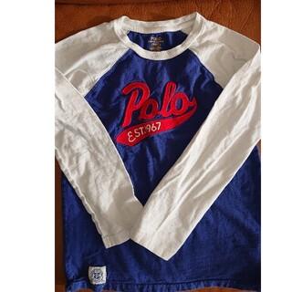 ポロラルフローレン(POLO RALPH LAUREN)のポロラルフローレン キッズ長袖シャツ サイズ7/130センチ(Tシャツ/カットソー)