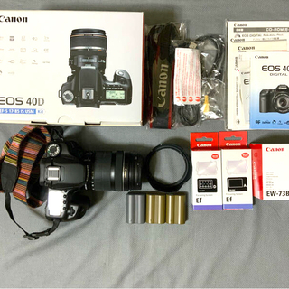 Canon - 美品 EOS 40D EF-S18-135mm F3.5-5.6 IS STM
