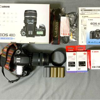 キヤノン(Canon)の美品 EOS 40D EF-S18-135mm F3.5-5.6 IS STM (デジタル一眼)
