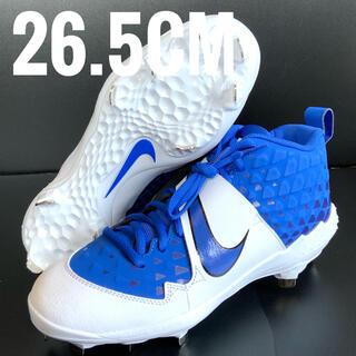 ナイキ(NIKE)のナイキ/NIKE 野球 スパイク シューズ メンズ ブルー ホワイト青白26.5(シューズ)