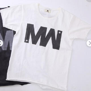 M - M × wjk コラボTシャツ 白