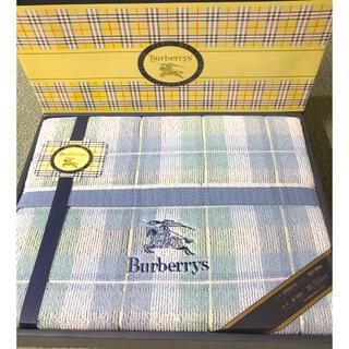BURBERRY - 新品 バーバリー BURBERRYS タオルケット 140×190cm 西川