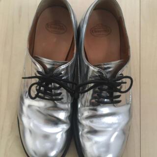 コムデギャルソン(COMME des GARCONS)のchurch'sチャーチ レースアップシューズ レディース35H(ローファー/革靴)