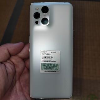 OPPO - OPPO Find X3 ホワイト 8/128gb おまけ付き