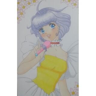 手描きイラスト 魔法の天使クリィミーマミ(アート/写真)