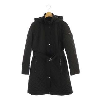 ラルフローレン(Ralph Lauren)のラルフローレン キルティングコート フーディ ベルト 近年モデル S ブラック(その他)