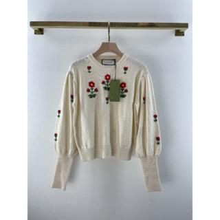 Gucci - Gucci  刺繍 ウール セーター