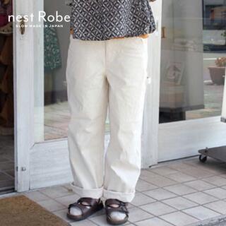 ネストローブ(nest Robe)のnest Robe✨ネストローブ コットン ダックペインターパンツ カーゴパンツ(ワークパンツ/カーゴパンツ)