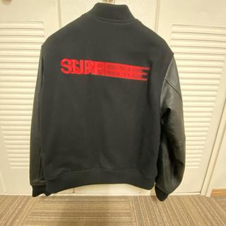 Supreme - supreme モーションロゴ スタジャン 黒 Lシュプリーム ジャケット