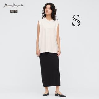 UNIQLO - UNIQLO ユニクロ mame エアリズムコットンスリットスカート 新品