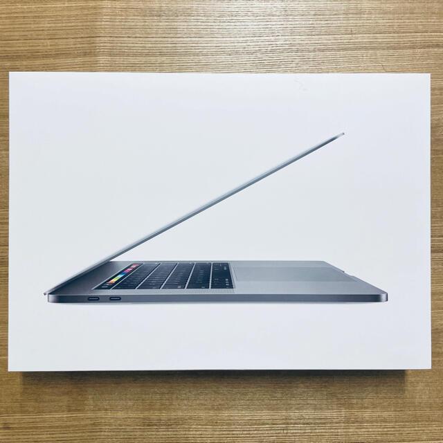 Apple(アップル)のMacBook Pro 15インチ 2018 スペースグレイ USキーボード スマホ/家電/カメラのPC/タブレット(ノートPC)の商品写真