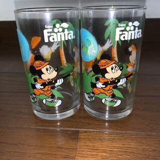 Disney - レトロなディズニーマジックグラス 2p