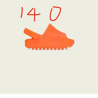 adidas -  YEEZY SLIDE INFANT  ENFLAME ORANGE 140