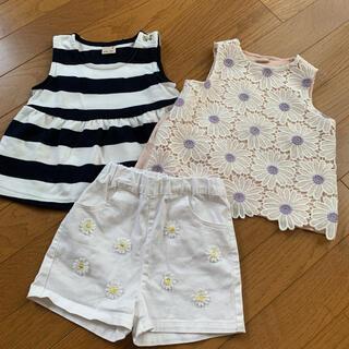 プティマイン(petit main)の三セット(Tシャツ/カットソー)