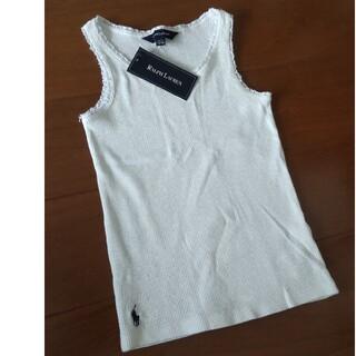 ラルフローレン(Ralph Lauren)のRALPH LAUREN ラルフローレン キッズ リブタンクトップ 新品(Tシャツ/カットソー)