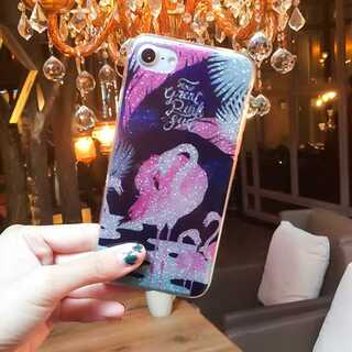 キラキラ オシャレ iPhone6 iPhone6s iPhoneケース ソフト