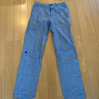 ユニクロ(UNIQLO)のUNIQLO  綿麻パンツSサイズ(カジュアルパンツ)
